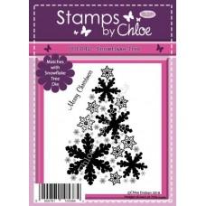 Stamps by Chloe - JUL042 Snowflake Tree