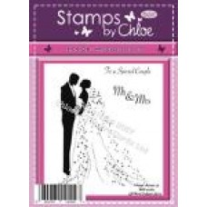 Stamps by Chloe - FEB026 Bride and Groom