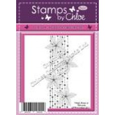Stamps by Chloe - APR008 Beaded Flower Border