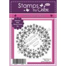 Stamps by Chloe - APR009 Flower Circle
