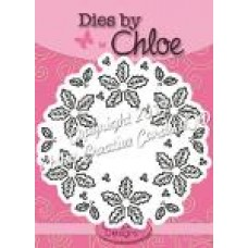 Dies By Chloe - CHCC-031 Holly Flower Wreath