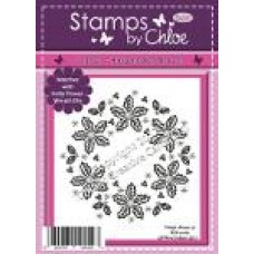 Stamps By Chloe - JUL027 Holly Flower Wreath