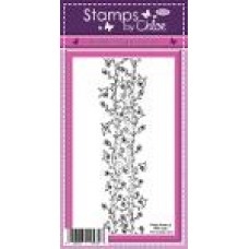 Stamps by Chloe - AUG026 Floral Vine Border