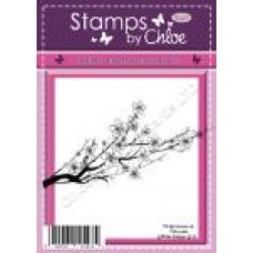 Stamps by Chloe - JAN062 Cherry Blossom Branch