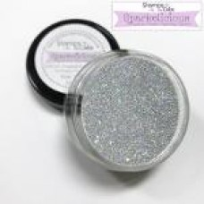 Stamps by Chloe Silver Frost Sparkelicious Glitter 1/2oz Jar