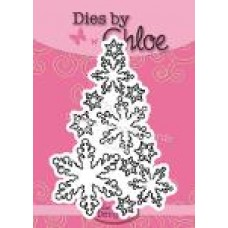 Dies by Chloe - CHCC-050 Snowflake Tree