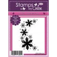 Stamps by Chloe - JUL045 Snowflake Arch