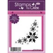 Stamps by Chloe - JUL043 Snowflake Corner