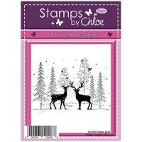 Stamps By Chloe - JUL047 Winter Woodland