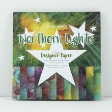 """Northern Lights Designer Paper Pack 8"""" x 8"""""""