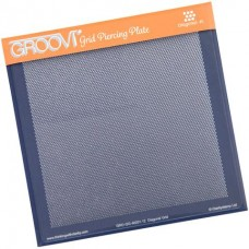 Diagonal Basic A5 Square Groovi Piercing Grid