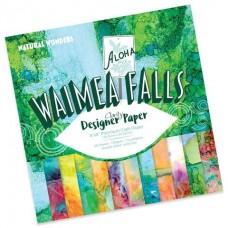 "Waimea Falls Designer Paper Pack 8"" x 8"""