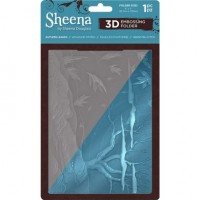 "Sheena Douglass 3D Embossing Folder 5""x7"" - Autumn Leaves"