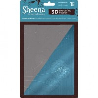 "Sheena Douglass 3D Embossing Folder 5""x7"" - Blowing In The Wind"