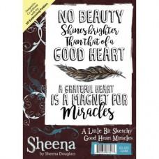 Sheena Douglass A Little Bit Sketchy A6 Stamp - Good Heart Miracles