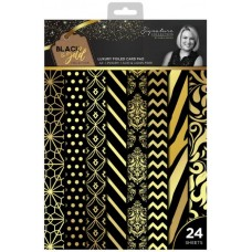 Black & Gold - A4 Luxury Foiled Pad