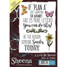 Sheena Douglass A Little Bit Sketchy A6 Stamp - Plan A Today