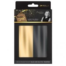Black & Gold - Foil Rolls (2PK)