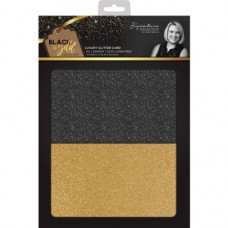 Black & Gold - Luxury Glitter Card