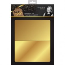 Black & Gold - Luxury Mirror Card