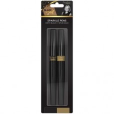 Black & Gold - Sparkle Pens (2pk)