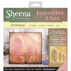 Sheena 'Remember When' Stencils - Archways