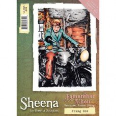 Sheena Douglass 'Remember When' A6 Stamp - Young Bob