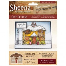 Sheena Douglass Perfect Partners Mockingbird Hill Metal Die - Cosy Cottage