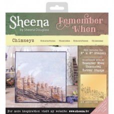 Sheena 'Remember When' Stencils - Chimneys