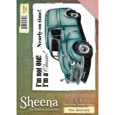 Sheena Douglass 'Remember When' A6 Stamp - The Delivery