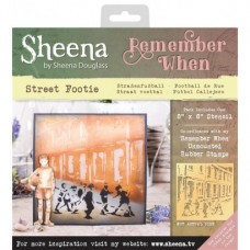 Sheena 'Remember When' Stencils - Street Footie