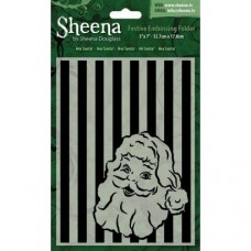 "Sheena Douglass 5""x7"" Xmas Folder - Hey Santa!"