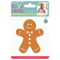 Sara Signature Cute Christmas - Metal Die - Jolly Gingerbread