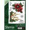 Sheena Douglass A6 Xmas Stamp - Light Up Christmas