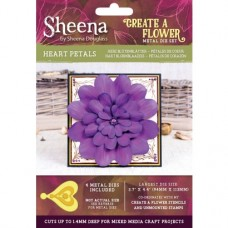 Sheena Douglass Create a Flower Die - Heart Petals