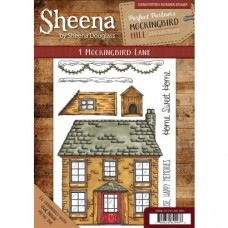 Sheena Douglass Perfect Partners Mockingbird Hill Rubber Stamp - 1 Mockingbird Lane