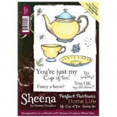 Perfect Partners Home Life - My Cup of Tea A6 Stamp
