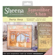 Sheena 'Remember When' Stencils - Party Shop