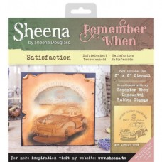 Sheena 'Remember When' Stencils - Satisfaction