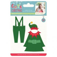 Sara Signature Cute Christmas - Metal Die - Santa's Little Helper