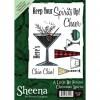 Sheena Douglass A6 Xmas Stamp - Christmas Spirits