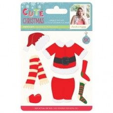 Sara Signature Cute Christmas - Metal Die - Santa's Suit