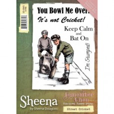 Sheena Douglass 'Remember When' A6 Stamp - Street Cricket