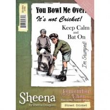 Sheena Douglass 'Remember When' A6 Stamp - Street Cricket