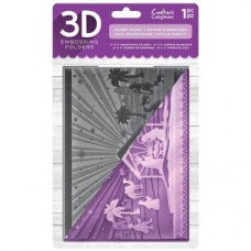 "Crafter's Companion 3D Embossing Folder 5""x7"" - Silent Night"