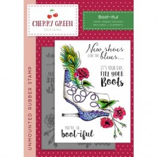 Cherry Green Stamp - Boot-iful
