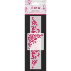 Sara Signature Collection - Glamour - Embossing Folders - Floral Vines