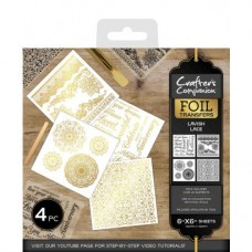 Crafter's Companion Foil Transfers - Lavish Lace