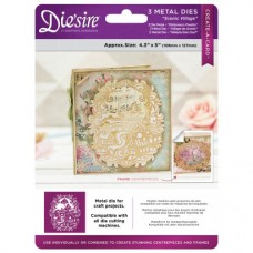 Die'sire 5x5 'Create-a-Card' Metal Die - Scenic Village