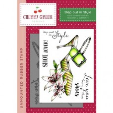 Cherry Green Stamp - Step out in Style